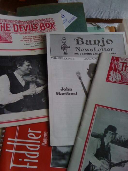 John Hartford Magazines