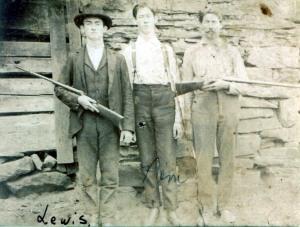 Three Harts Creek Men, circa 1920