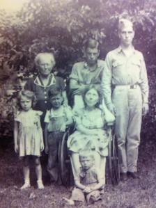 Pearl Adkins (center), 1940s