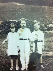 Adkins Children, about 1932