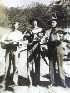 "Clifford Dalton, James Browning, and Ezra ""Jake"" Dalton of Harts Creek, Lincoln County, West Virginia, 1935-1950"