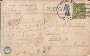Postcard from Ella Haley to Jack Haley, 1934