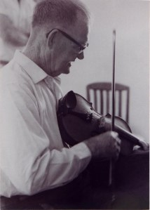 Doc White, West Virginia fiddler