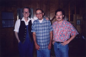 John Hartford, Wilson Douglas, Steve Haley, Clendenin, West Virginia, 1994