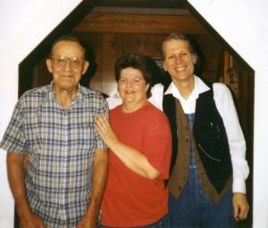 Wilson Douglas, Kim Johnson, and John Hartford, 1994