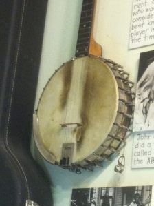 John Hartford banjo, Museum of Appalachia, Norris, TN. 15 May 2012