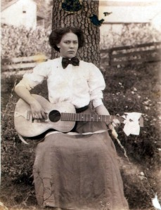 Nora (Douglas) Martin, daughter of Rosie (Hicks) Day, Clay County, WV