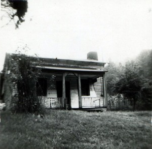 Mullins Homeplace, Trace Fork of Big Harts Creek, Logan County, WV, 1945-1950.