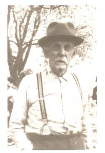 Samp Davis, an old timberman from West Fork, Lincoln County, WV.
