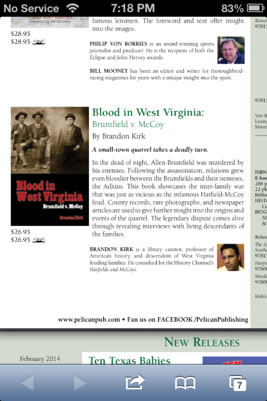 Blood in WV