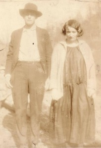 John and Anna Adams, Trace Fork of Big Harts Creek, Logan County, WV