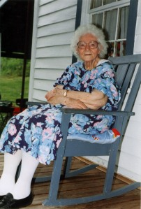 Eunice Peyton Ferrell of Big Ugly Creek, Lincoln County, WV, 1995