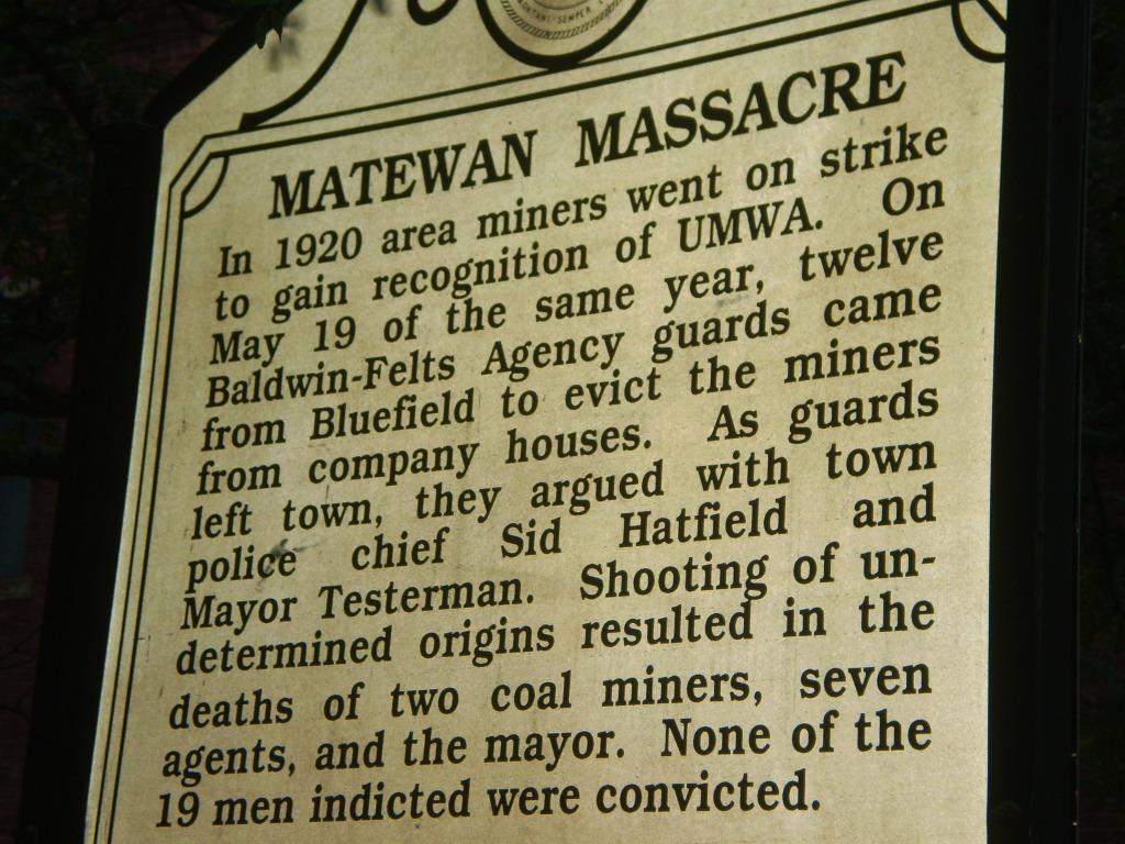 Matewan Massacre