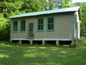 The old Piney School on West Fork, Logan County, West Virginia, 2008