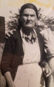 Stella (Abbott) Mullins of Ferrellsburg, Lincoln County, West Virginia