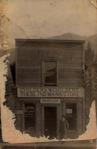 Childers & Childers: The Blind Man's Store
