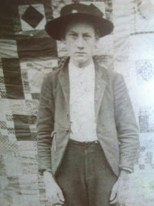 "Moses ""Dood"" Dalton, Big Branch of Big Harts Creek, Lincoln County, WV, c.1905"