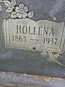 Hollena (Dingess) Brumfield, a major character in the story of the Lincoln County Feud, is buried at Harts, Lincoln County, WV