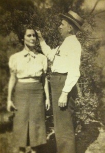 Bill Adkins and wife, Harts, Lincoln County, WV