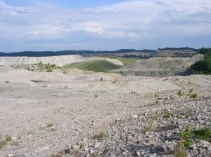 Strip mine on Big Ugly Creek, Lincoln County, WV, 2006