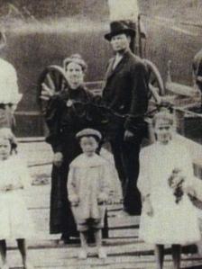 Ferrellsburg residents, c.1910