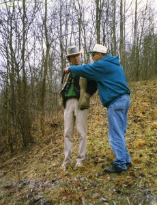 Wilson Douglas and John Hartford, Calhoun County, WV, 1996
