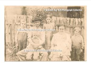 Watson Lucas family, residents of Green Shoal, Lincoln County, WV