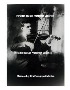 "John Edward ""Ed"" Belcher, #violinist in #Logan, #WestVirginia. #history #music"