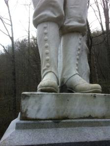 Anderson Hatfield's boots, Island Creek, Logan County, WV