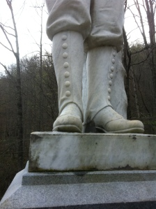 Anderson Hatfield's boots, Island Creek, Logan County, WV