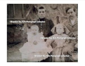 Milt Ferrell family, residents of Rector, Lincoln County, WV