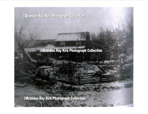 George Fry home, Green Shoal, Lincoln County, WV