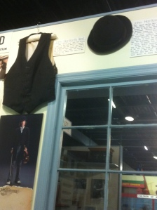 John Hartford's vest and hat, Museum of Appalachia, Norris, TN 5.15.2012