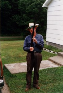Naaman Adams, resident of Trace Fork of Big Harts Creek, Logan County, WV, 1996