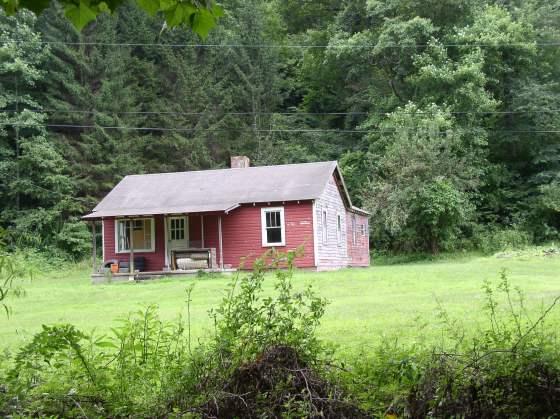 Ewell Mullins home, Trace Fork of Harts Creek, Logan County, WV