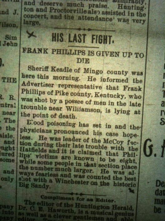 Frank Phillips HA 09.28.1895