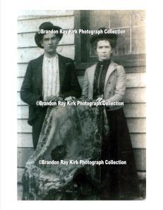 Jeff and Harriet (Jonas) Baisden of Trace Fork of Harts Creek, Logan County, WV