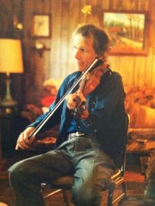 John Hartford plays for Ugee Postalwait in Rogersville, Alabama, 1997