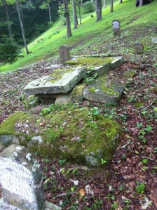 Peter Mullins grave, located at Carter Hollow of Buck Fork of Harts Creek, Logan County, WV