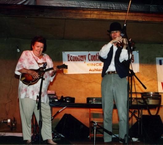 Mona Haley and John Hartford
