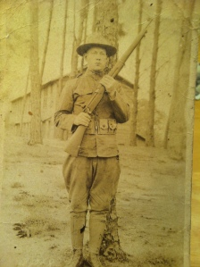 World War I soldier from Harts Creek, Logan County, WV