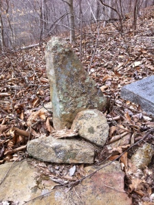 Haley-McCoy grave, located on West Fork of Harts Creek, Lincoln County, WV. In 2000, Smithsonian magazine featured the grave (and myself) in a story written by Edwards Park.