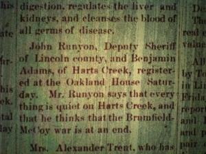 John Runyon and Ben Adams LCB 01.09.1890 2