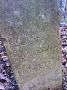 Harvey Gore grave
