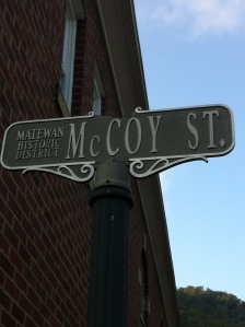 McCoy Street, Matewan, WV, 13 September 2014