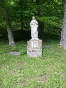 Kirk Cemetery, Piney Fork of West Fork of Harts Creek, Logan County, WV