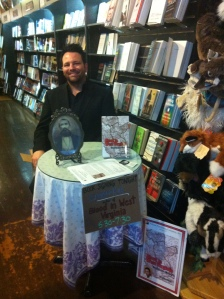 Here I am meeting wonderful people at Taylor Books in Charleston, WV