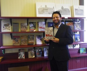 """Blood in West Virginia: Brumfield v. McCoy"" is available for purchase at Historic Matewan Depot in Matewan, WV. 20 June 2015"