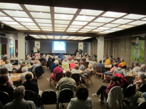Presenting the Lincoln County Feud story to the wonderful folks at Ohio County Public Library in Wheeling, WV