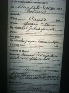 Cain Adkins military record 4